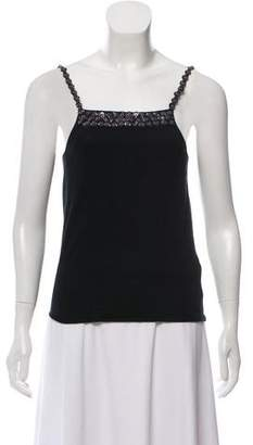 DSQUARED2 Sleeveless Embellished Top