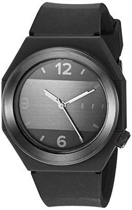 Neff Automatic Stainless Steel and Silicone Sport Watch