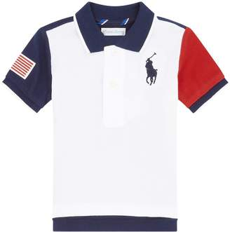 Ralph Lauren Colour Block Polo Shirt