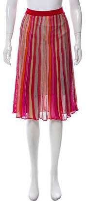 Missoni Patterned Mini Skirt