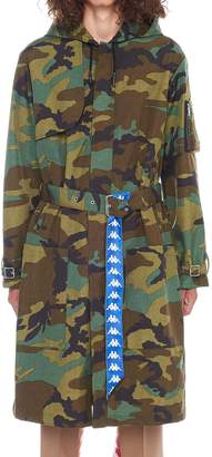 Danilo Paura X Kappa 'cenk' Trench Coat