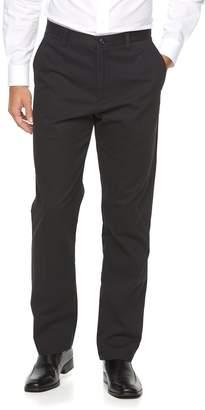 Croft & Barrow Big & Tall Classic-Fit Essential Khaki Flat-Front Pants