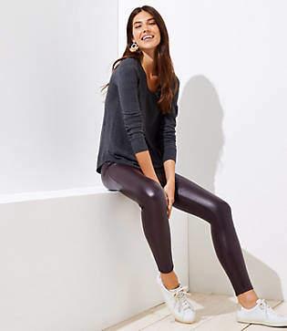 LOFT Tall Leggings in Faux Leather