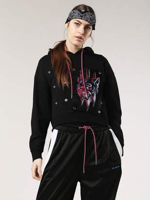 Diesel Sweatshirts 0NATD - Black - L