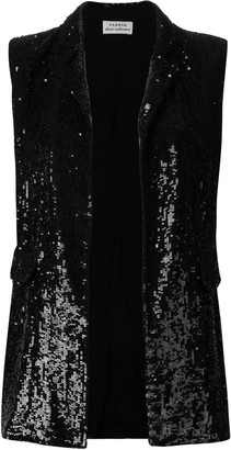 P.A.R.O.S.H. embellished fitted waistcoat