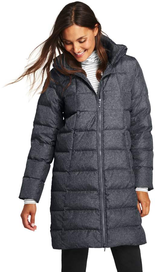 Lands'end Women's Petite Down Winter Coat