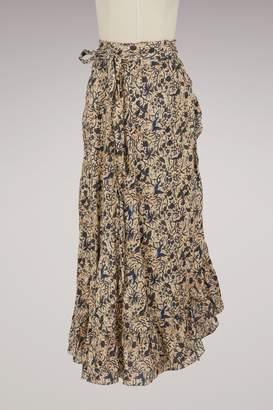 Etoile Isabel Marant Linen Alda skirt