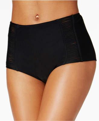 Hula Honey Juniors Malibu Solids High-Waist Swim Bottoms, Women Swimsuit