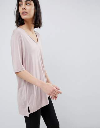 Selected Soft Touch V Neck T-Shirt
