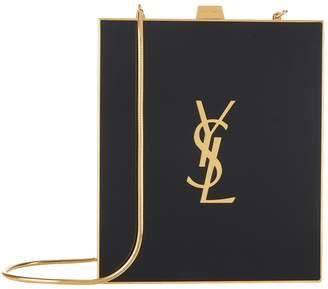 Saint Laurent Tuxedo Monogram Plexiglass Box Bag