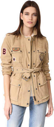 Belstaff Hoghton Cotton Drill Jacket $895 thestylecure.com