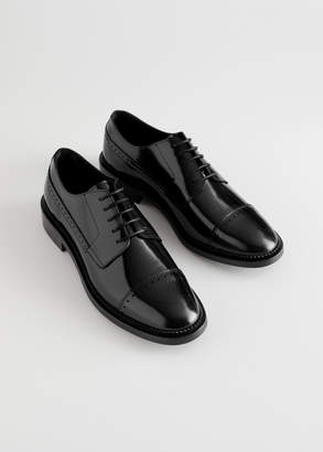 And other stories Leather Oxfords