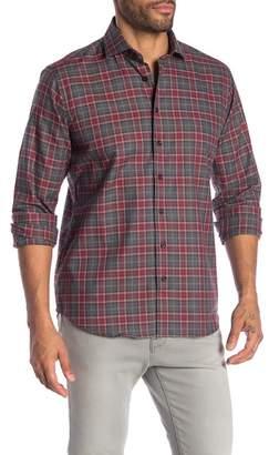 Toscano Checkered Regular Fit Sport Shirt