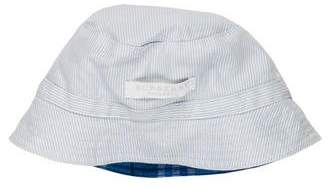 Burberry Boys' Reversible Check Print Hat