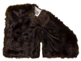 Bill Blass Faux Fur Stole w/ Tags
