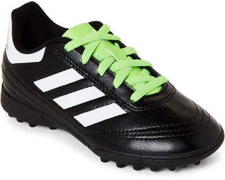 adidas Toddler Boys) Black & Green Goletto VI FG Soccer Cleats