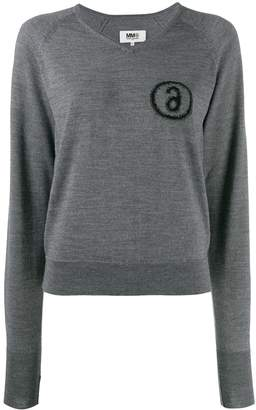 MM6 MAISON MARGIELA knitted jumper