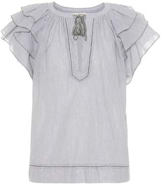 Ulla Johnson Lani ruffled cotton top