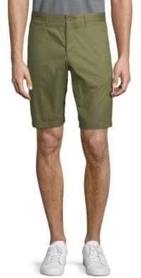 Original Penguin Cotton Flat Front Shorts