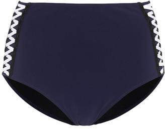 Jonathan Simkhai Lace-up swim bottoms