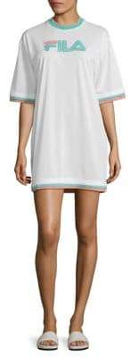 Fila Logo Mesh Dress