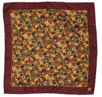 Chanel Bijou Silk Pocket Square