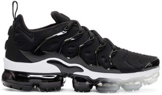 Nike Black and White Air Vapormax Plus Sneakers