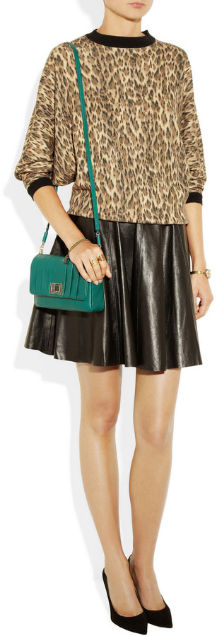 Anya Hindmarch Gracie pleated leather shoulder bag