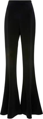 Cushnie Naomi Stretch-Jersey Flared Pants
