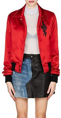 Amiri Women's Silk Satin Band Jacket