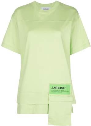 Ambush asymmetric waist pocket t-shirt