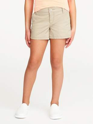 Old Navy Stretch Chino Shorts for Girls