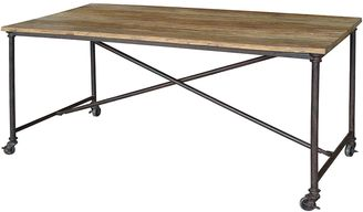 Amalfi by Rangoni Dining Tables Rustic Irony Dining Table