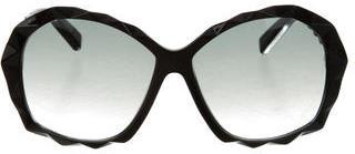 Swarovski Amazing Geometric Sunglasses $145 thestylecure.com