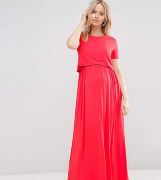 Asos (エイソス) - Asos Maternity Nursing ASOS Maternity NURSING Double Layer Maxi Dress