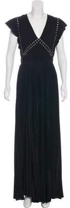 A.L.C. Pleated Grommet Dress w/ Tags