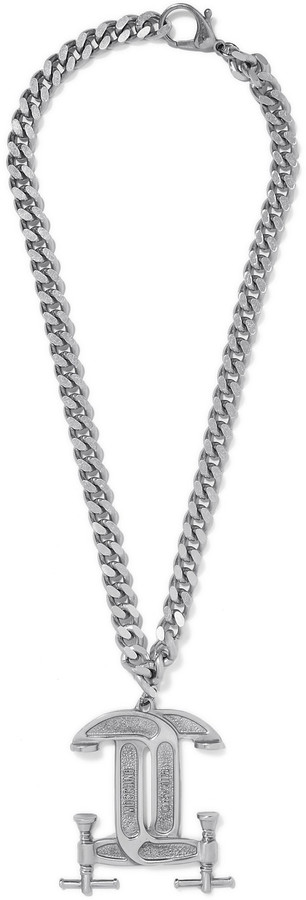 Moschino Moschino Silver-tone necklace