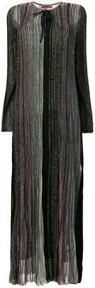 Missoni metallic ribbed long dress