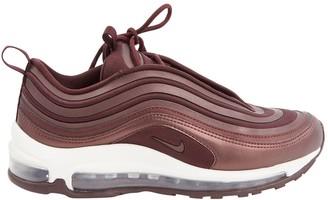 Nike 97 Burgundy Leather Trainers