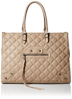 Steven Madden Women's Zinnia Quilted Tote $108 thestylecure.com