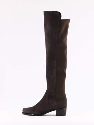 Stuart Weitzman Grey Reserve Boots