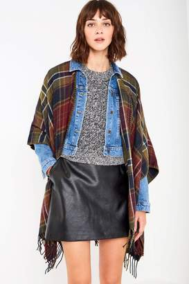 Jack Wills Tilcoultry Plaid Cape