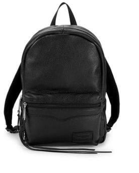 Rebecca Minkoff Top Zip Medium Leather Backpack