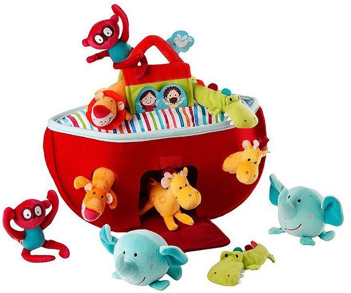 HabaHABA Lilliputiens Noah's Ark Plush Playset