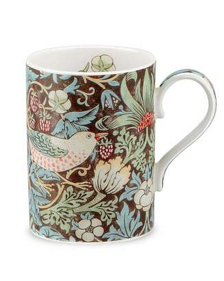 Portmeirion Strawberry Thief Mug Chocolate & Slate