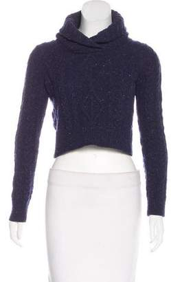 Opening Ceremony Cable Knit Cowl Neck Sweater