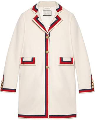 a756837561977 Gucci White Coats for Women - ShopStyle Canada