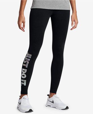Nike Sportswear Just Do It Leggings $55 thestylecure.com