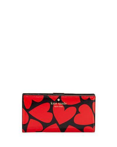 Kate Spade Kate Spade New York Be Mine Stacy Wallet, Multicolor