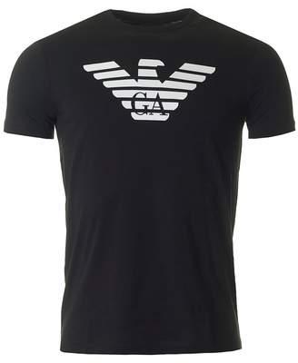 Giorgio Armani Eagle Logo Slim Crew Neck T-shirt